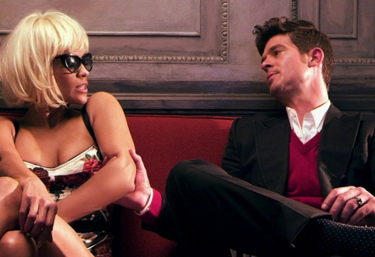 """Robin Thicke And Paula Patton In His """"Love After War"""" Video (In 2011)"""
