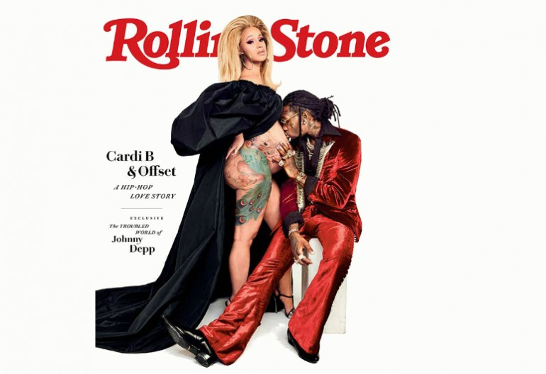 Cardi B And Offset On The Cover Of Rolling Stone June 2018