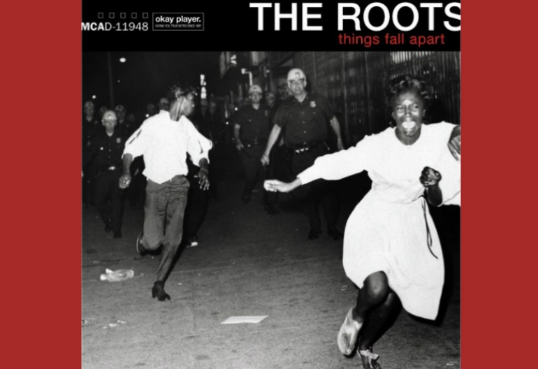 The Cover Art for The Roots 1999 Album Things Fall Apart