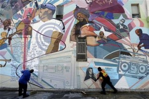 The Roots Tribute Mural In Philadelphia