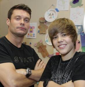 Ryan Seacrest & Justin Bieber