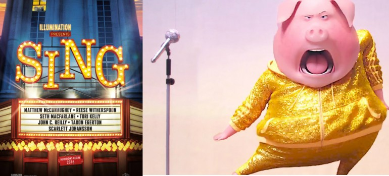 """Promotional Images From Illumination Entertainment/Universal Pictures' """"SING"""""""