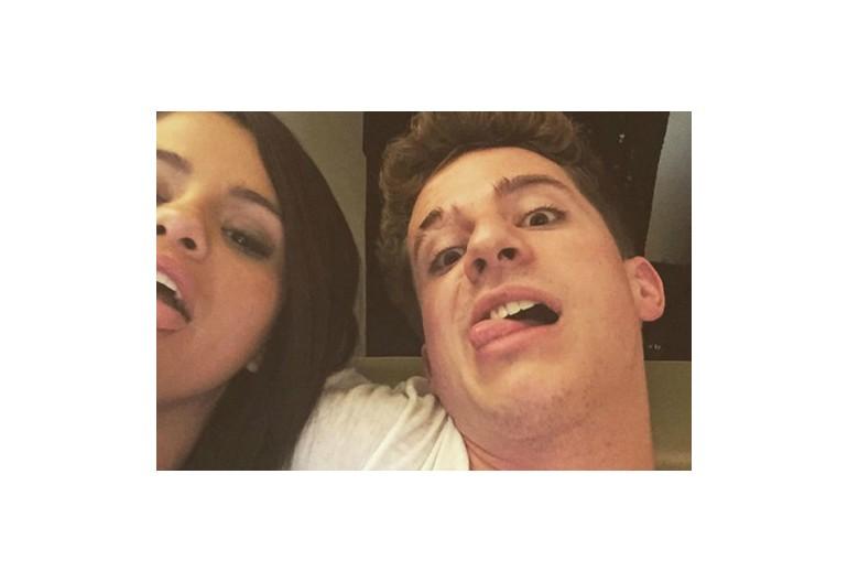 Selena Gomez and Charlie Puth via Instagram
