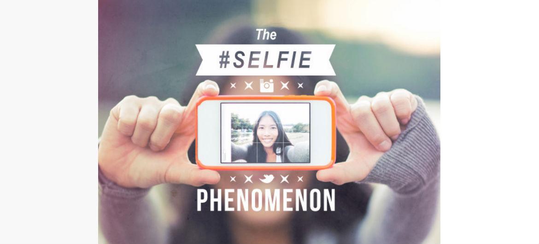 the selfie phenomenon   lots of words