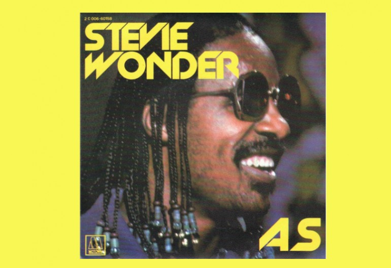 "Stevie Wonder ""As"""" Tamla Motown Records"