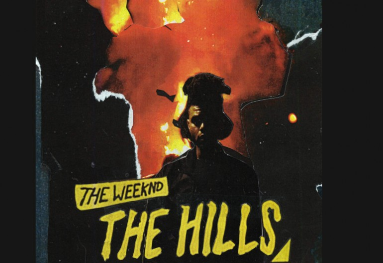 "The Weeknd's ""The Hills"" Single art via XO/Republic Records"