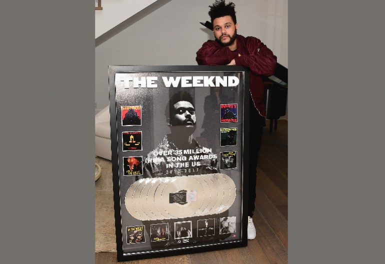 The Weeknd Image From RIAA