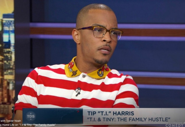 T.I. on The Daily Show With Trevor Noah Comedy Central