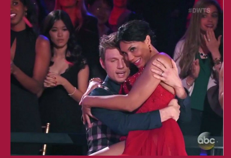 Tamar Braxton And Nick Carter