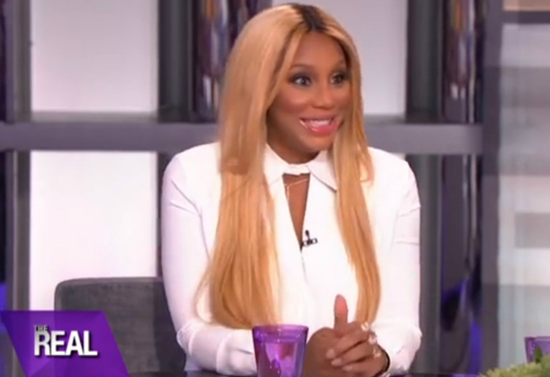 "Tamar Braxton On ""The Real"""