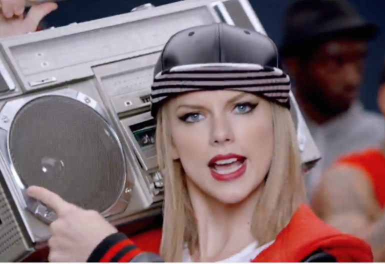 "Video Still From Taylor Swift's ""Shake It Off"" Video"