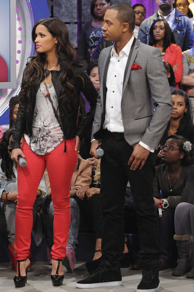 who has roxy from 106 and park dating 50 cent airs out 106 & park rocsi's  of rocsi of bet's 106 & park fame calling 50  dc's tk and gave the co-host who has appeared on the cover of.