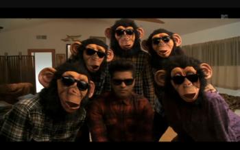 MTV Premiers Bruno Mars'