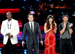 """The Voice"" Season 2 Top 4 Jermaine Paul, Chris Mann, Juliet Simms And Tony Lucca"