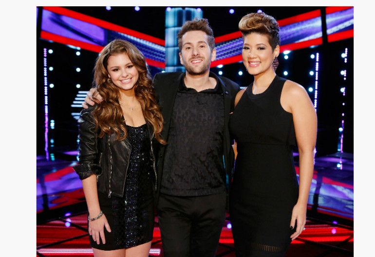 """The Voice"" Top 3"