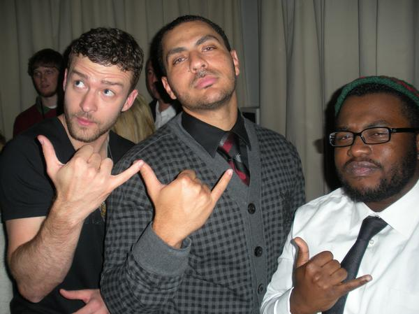 "New Production Group ""The Y's"" (Justin Timberlake, Rob Knox & James Fauntleroy II)"