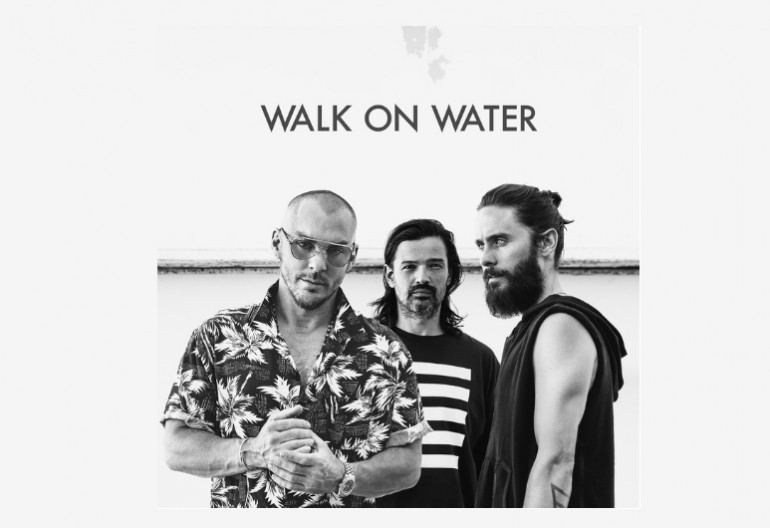 "Thirty Seconds To Mars ""Walk On Water"" Interscope Records"