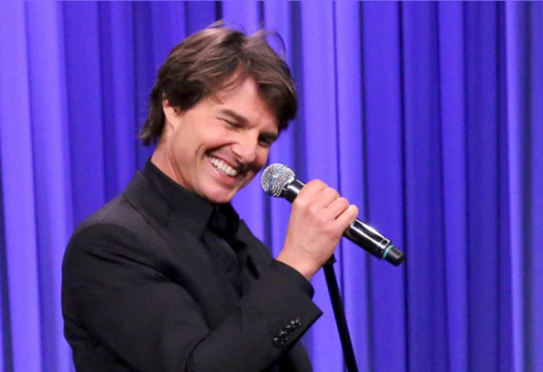 Tom Cruise On Tonight Show Starring Jimmy Fallon