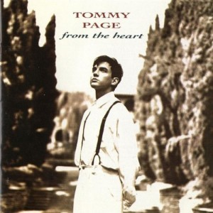"Tommy Page ""From The Heart"" Sire/Warner Bros. Records"