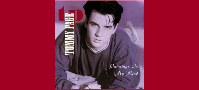 "Tommy Page ""Paintings In My Mind"" Sire/Warner Bros. Records"