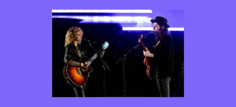 Tori Kelly And James Bay