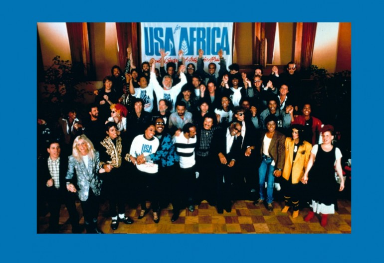 "USA For Africa ""We Are The World"" Columbia Records/CBS"