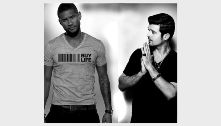Usher And Robin Thicke