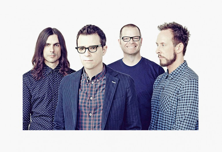 Weezer 2014 Photo by Emily Shur Via Republic Records