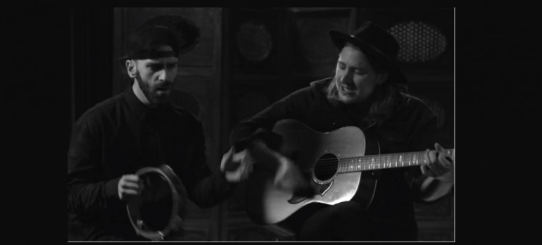 "Jamie N Commons and Sam Harris of X Ambassadors perform an acoustic version of ""Jungle"" on VEVO"