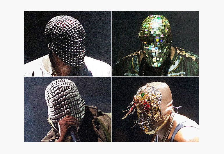 """Images From Kanye West's """"Yeezus"""" Tour"""