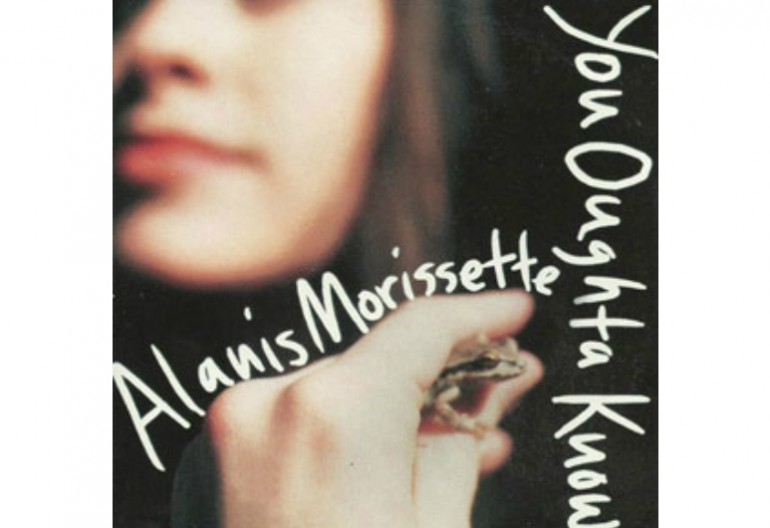 "Alanis Morissettes ""You Oughta Know"" Maverick  Records"