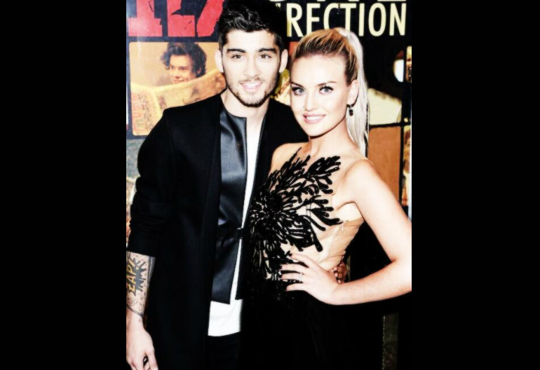 One Directon's  Zayn Malik Celebrates Engagement To Little Mix Singer Perrie Edwards