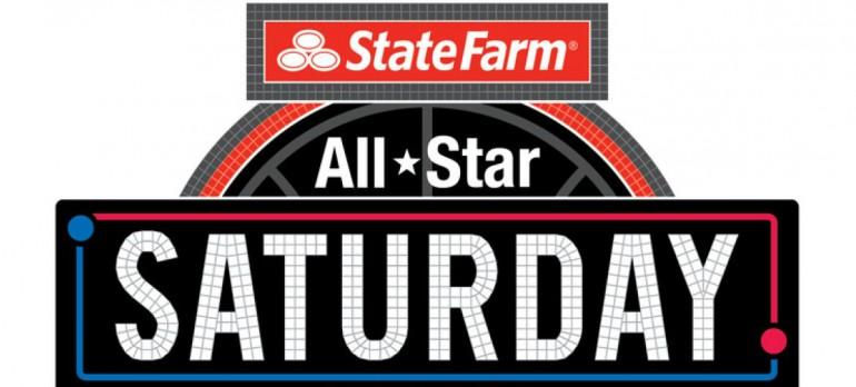 """""""All-Star Saturday"""" logo,"""