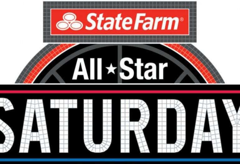 """All-Star Saturday"" logo,"