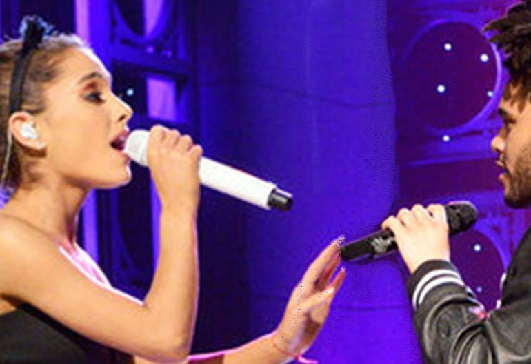 Ariana Grande And The Weekend on Saturday Night Live