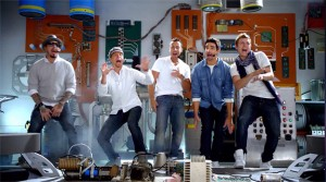 Backstreet Boys In Old Navy Commercial