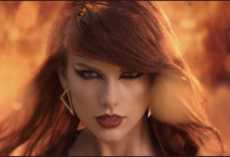 "Taylor Swift In ""Bad Blood"" Music Video"