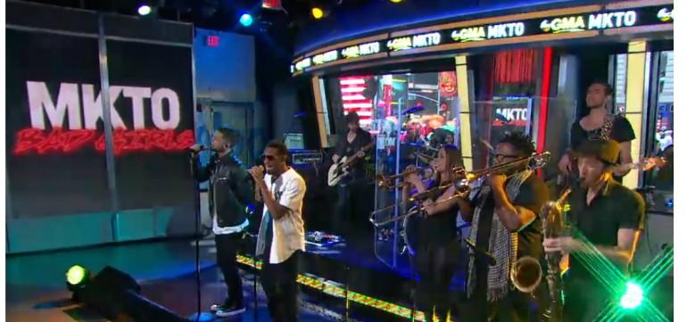 "MKTO Performing ""Bad Girl on Good Morning America"
