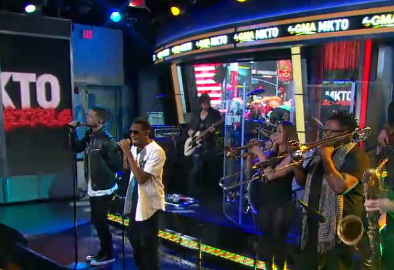 "MKTO Performing ""Bad Girl on Good Morning America"