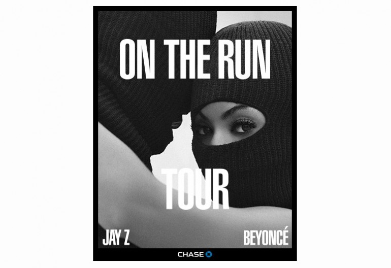 "Image From Jay-Z & Beyonce's ""On The Run Tour"""