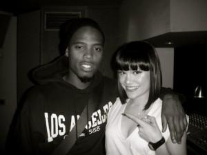 Jessie J with B.O.B.