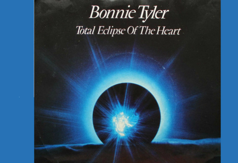 "Bonnie Tyler ""Total Eclips Of The Heart"" Columbia Records"