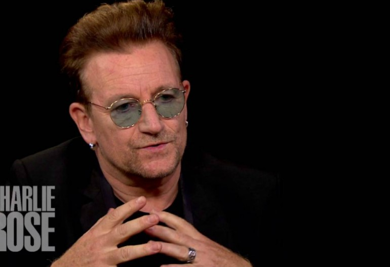 Bono on Charlie Rose Via PBS