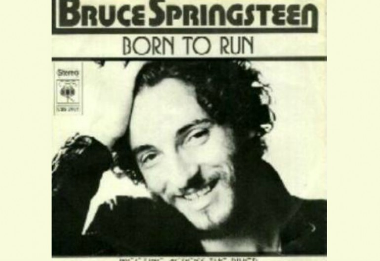 "Bruce Springsteen ""Born To Run"" Columbia Records"