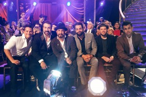 Boy Band Members From Backstreet Boys, *NSYNC, 98 Degrees, and O-Town Support Nick Carter At Dancing With The Stars