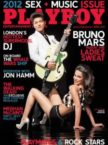 Bruno Mars on The Cover Of Playboy Magazine