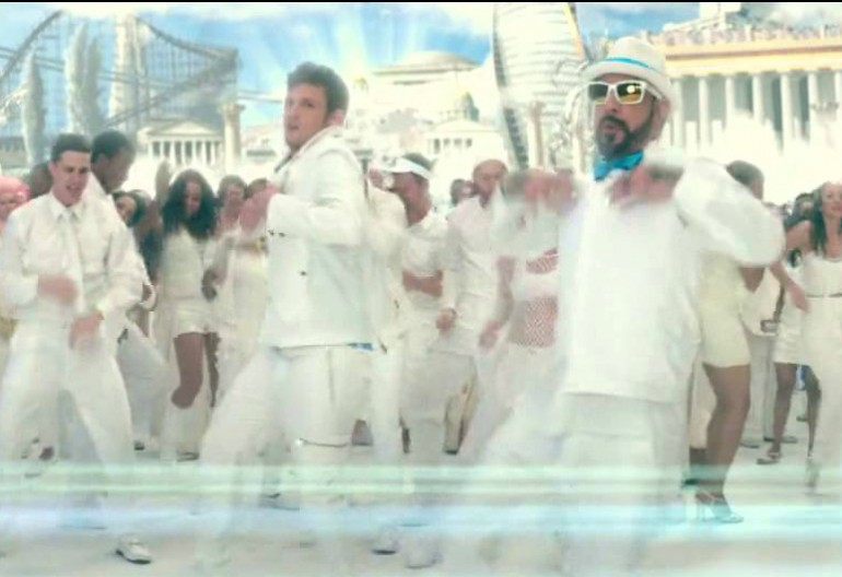 "Backstreet Boys In ""This Is The End"""