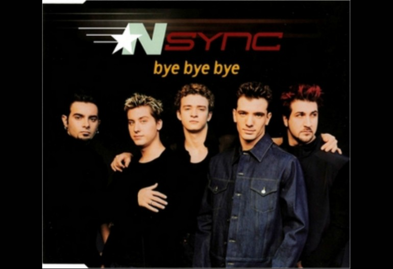 """*NSYNC """"Bye Bye Bye"""" Jive Records"""