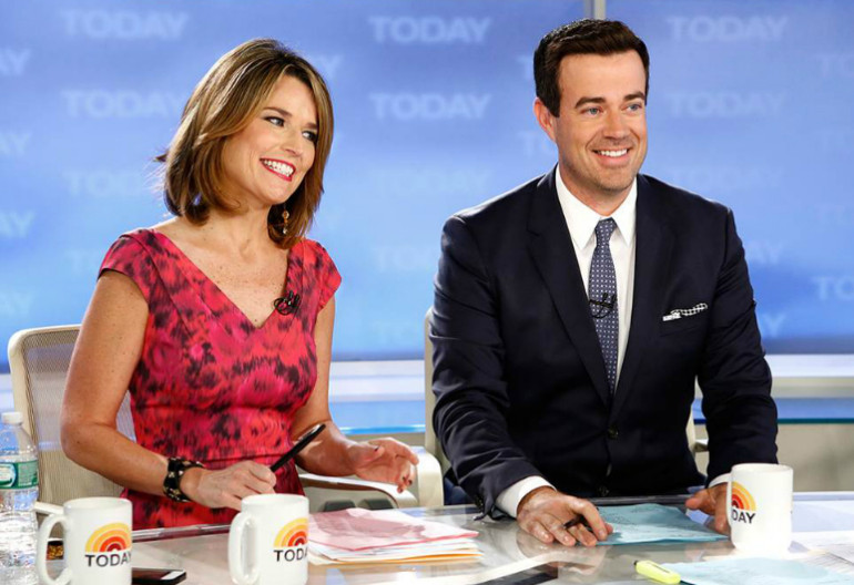 Carson Daly Today Show Desk