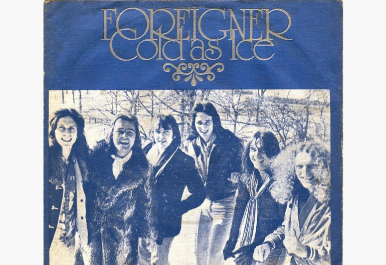 "Foreigner ""Cold As Ice (1977)  Atlantic Records"
